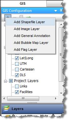 Adding a Shapefile Layer